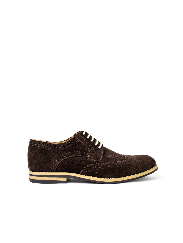Pantofi Barbati piele naturala maro Filip