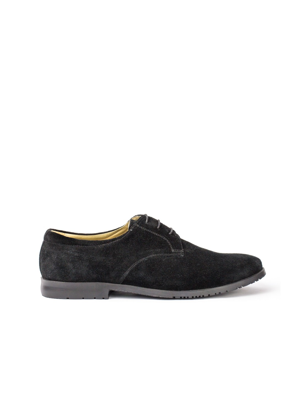 Pantofi Barbati piele naturala negru Marcu
