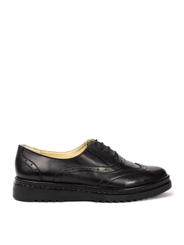 Pantofi Dama piele naturala negru Amanda