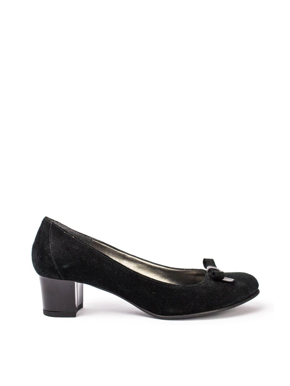 Pantofi Dama piele naturala negru Gloria