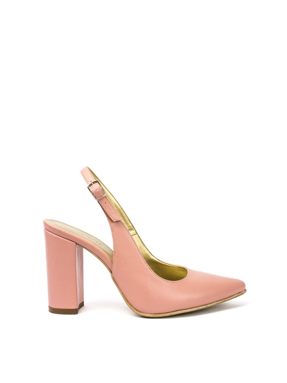 Sandale Dama piele naturala roz Smaranda