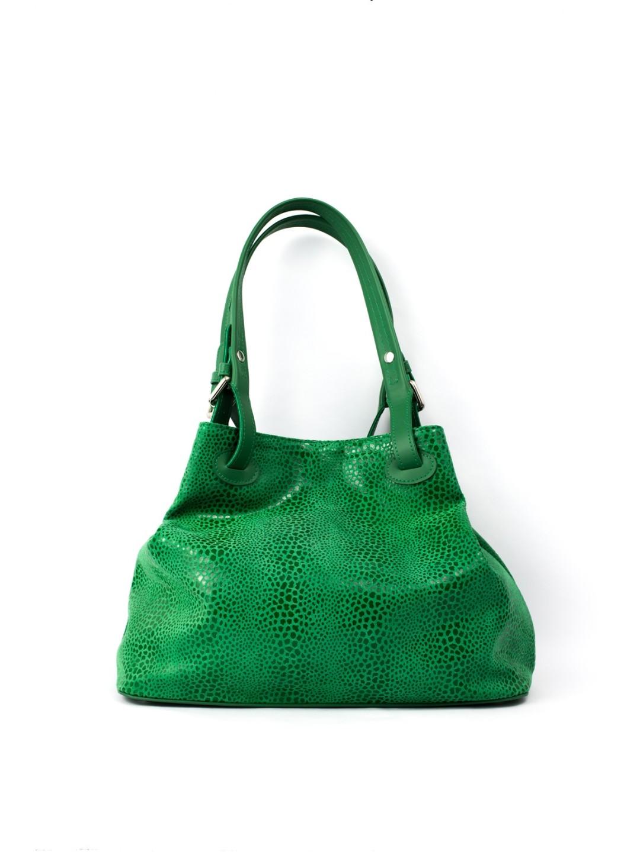 Geanta Piele Verde Otilia