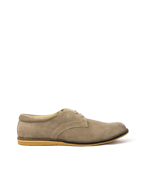 Pantofi Barbati piele naturala gri Sebastian