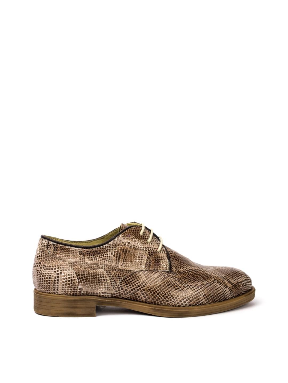Pantofi Dama piele naturala bej Vitalia