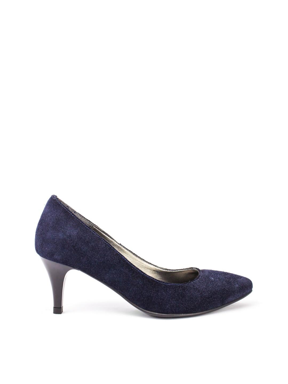 Pantofi Dama piele naturala bleumarin Zamfira