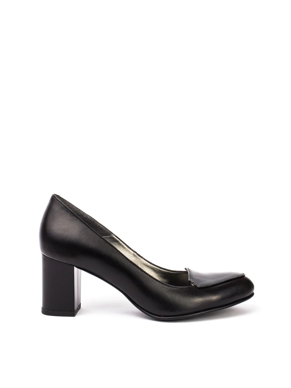 Pantofi Dama piele naturala negru Angela