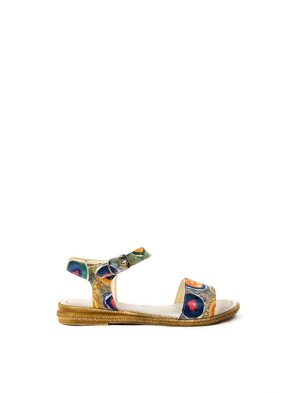 Sandale Dama piele naturala multicolor Penelope