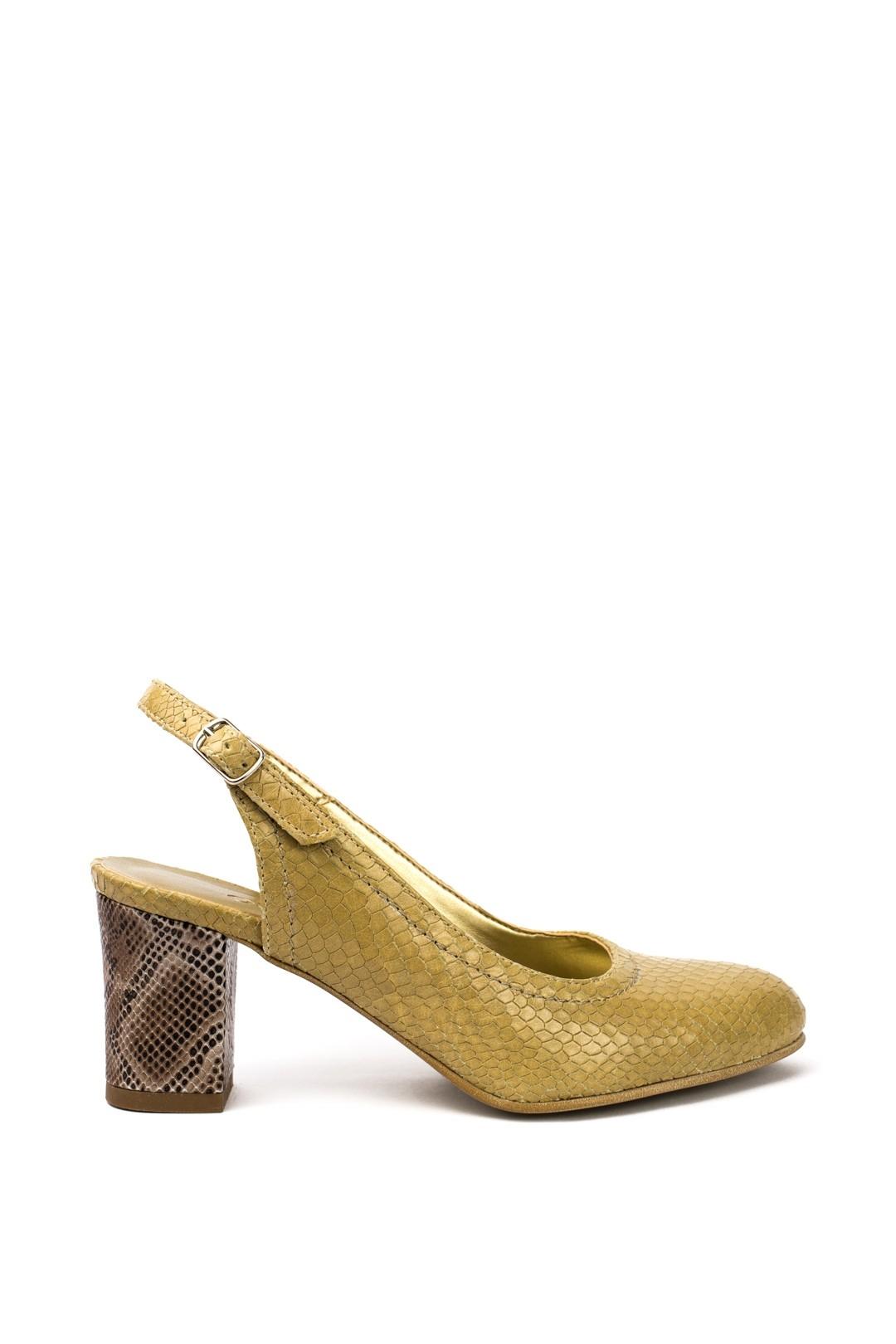 Sandale Dama piele naturala bej Steluta