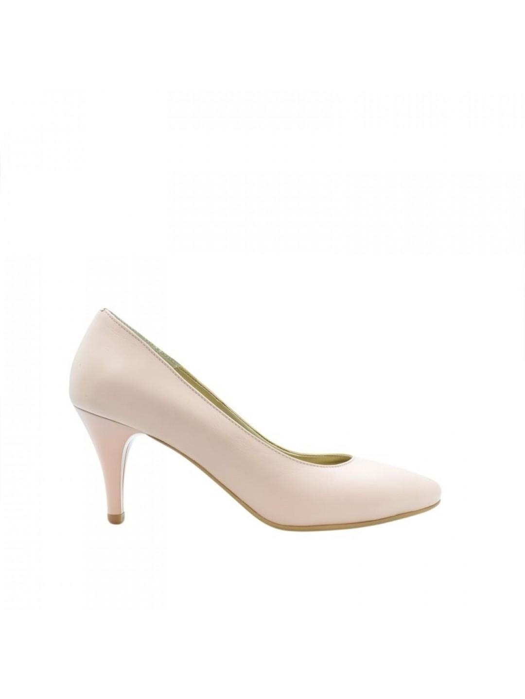 Pantofi Dama piele naturala nude Tisa