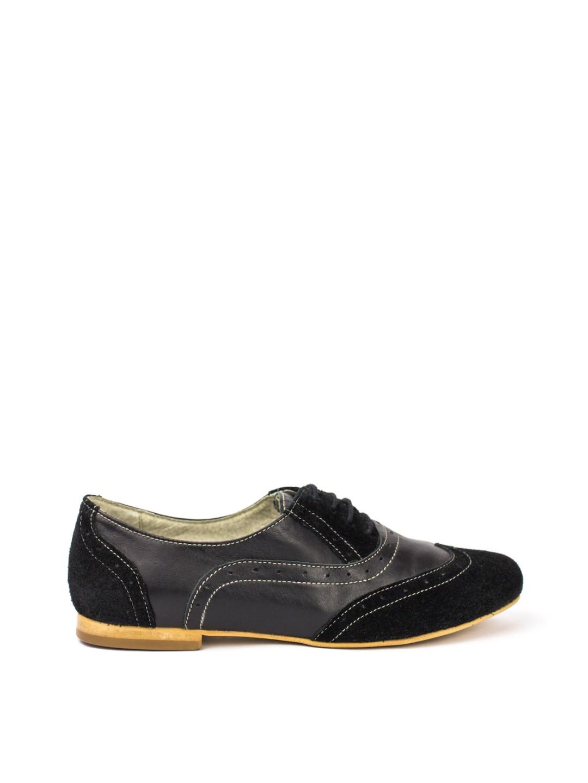 Pantofi Dama piele naturala negru Alisa
