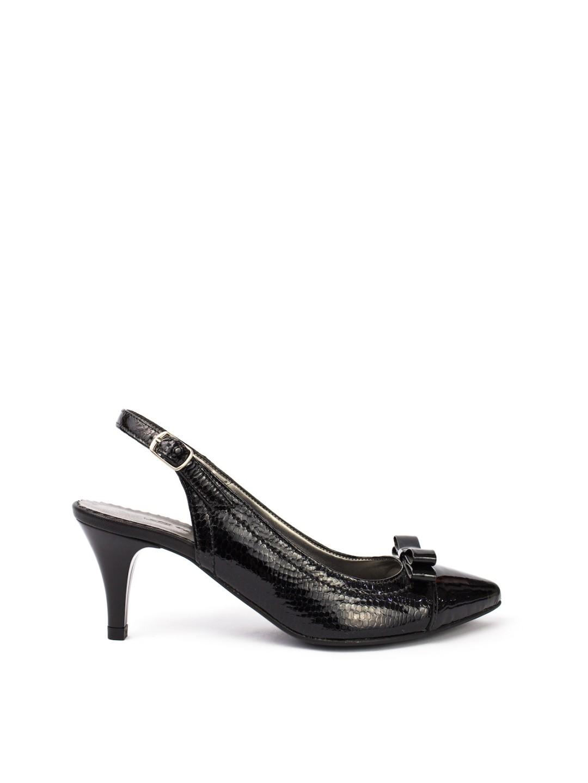 Sandale Dama piele naturala negru Nicola