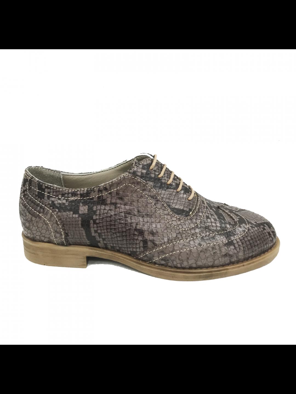 Pantofi Dama piele naturala maro Melania