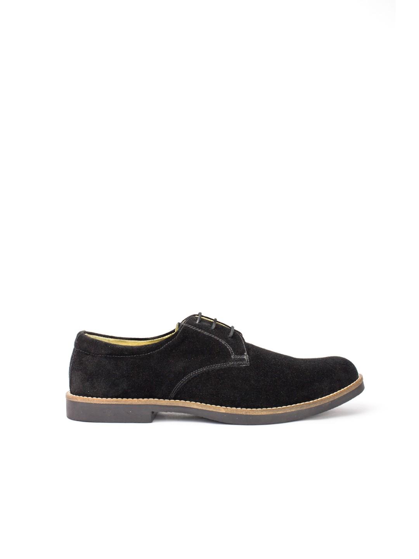 Pantofi Barbati piele naturala negru Denis