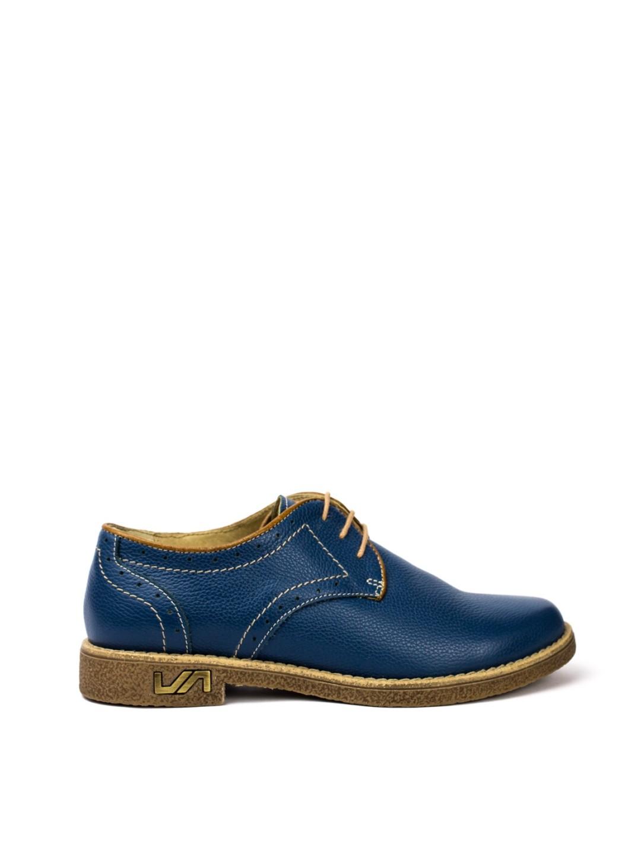 Pantofi Dama piele naturala bleumarin Veolia