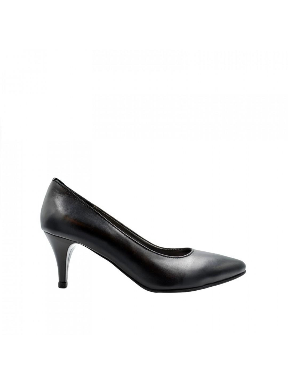 Pantofi Dama piele naturala negru Vicky