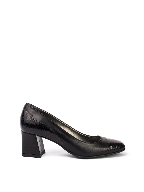 Pantofi Dama piele naturala negru Amelia