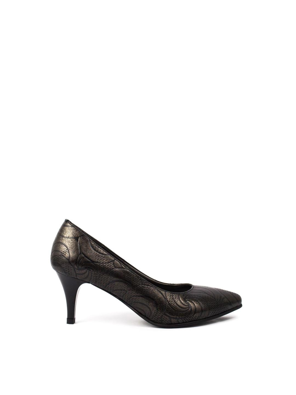 Pantofi Dama piele naturala negru Otilia