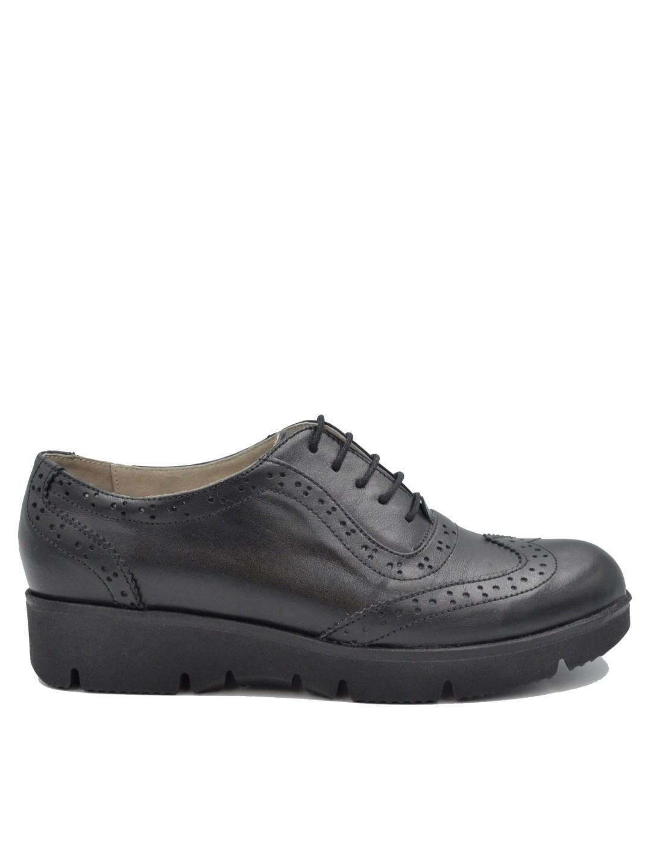 Pantofi Dama piele naturala negru Emanuela