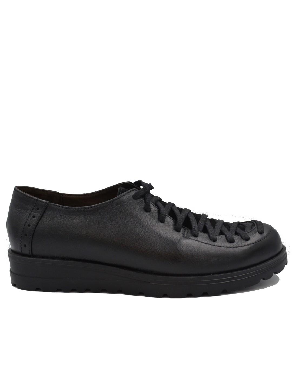 Pantofi Dama piele naturala negru Dalia