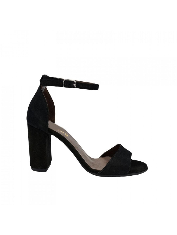 Sandale Dama piele naturala negre Ioanina