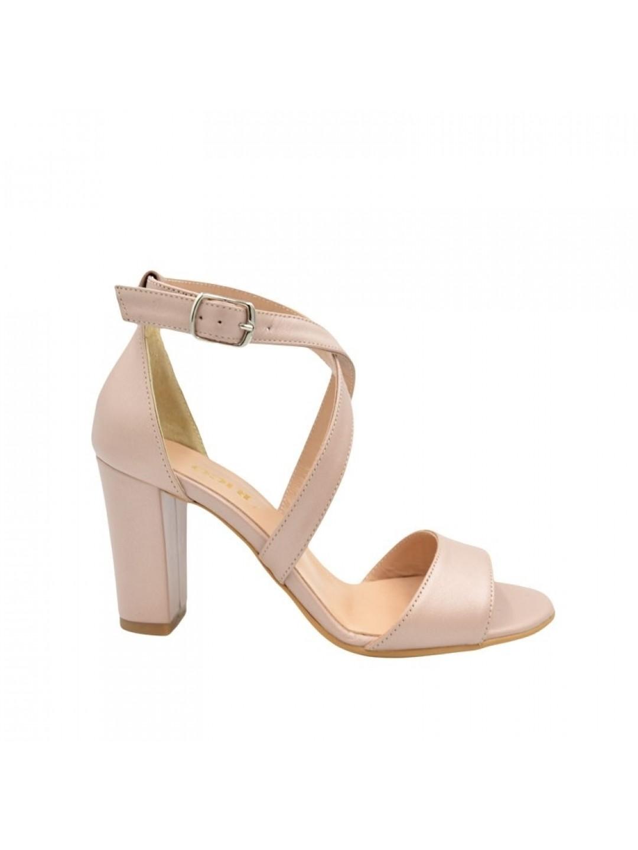 Sandale Dama piele naturala nude Ligia