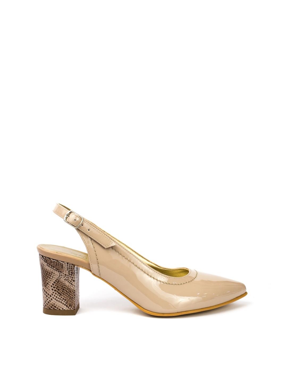 Sandale Dama piele naturala nude Gratiela