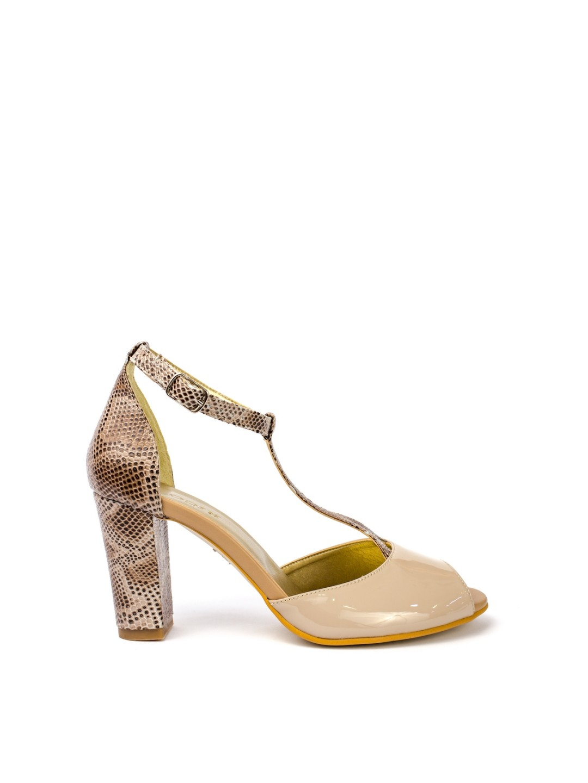Sandale Dama piele naturala nude Vanda