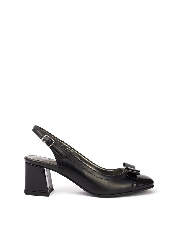 Sandale Dama piele naturala negru Hermina