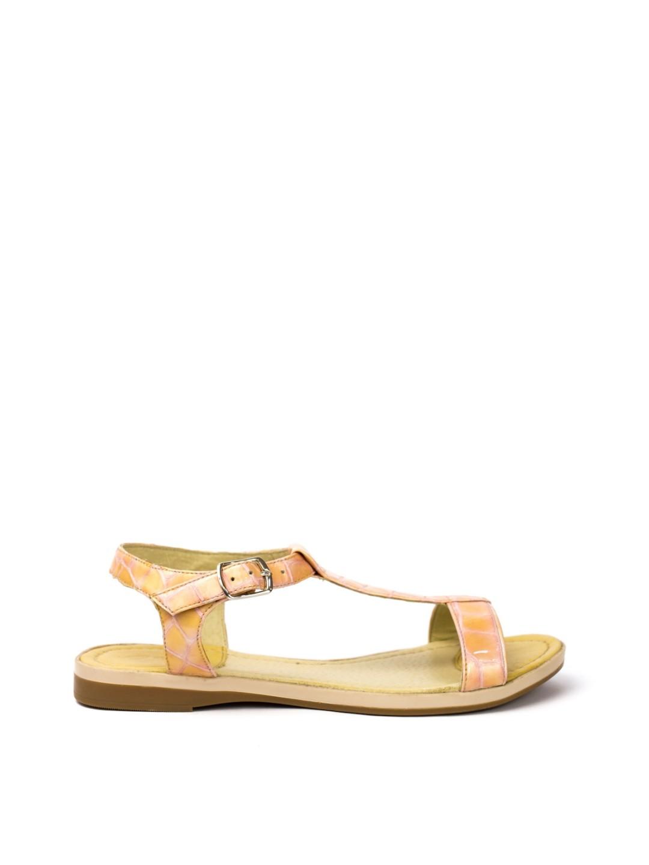 Sandale Dama piele naturala rosu Maia