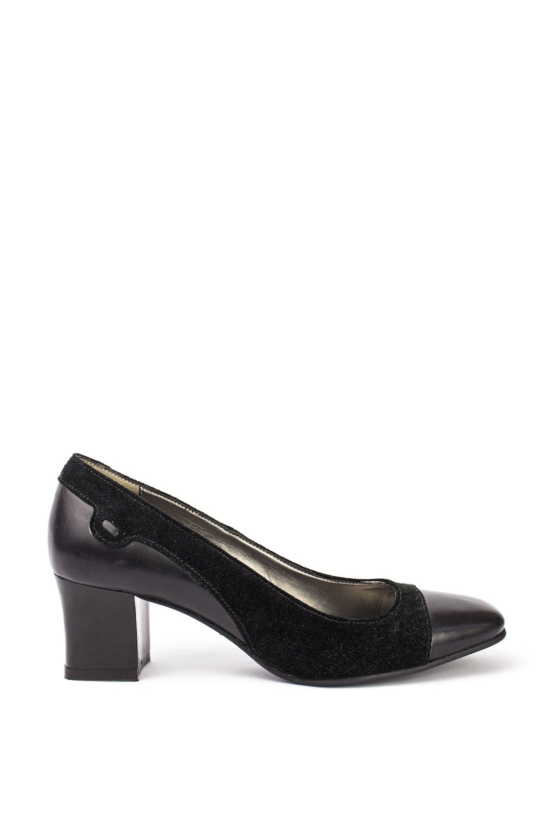 Pantofi Dama piele naturala negru Anita