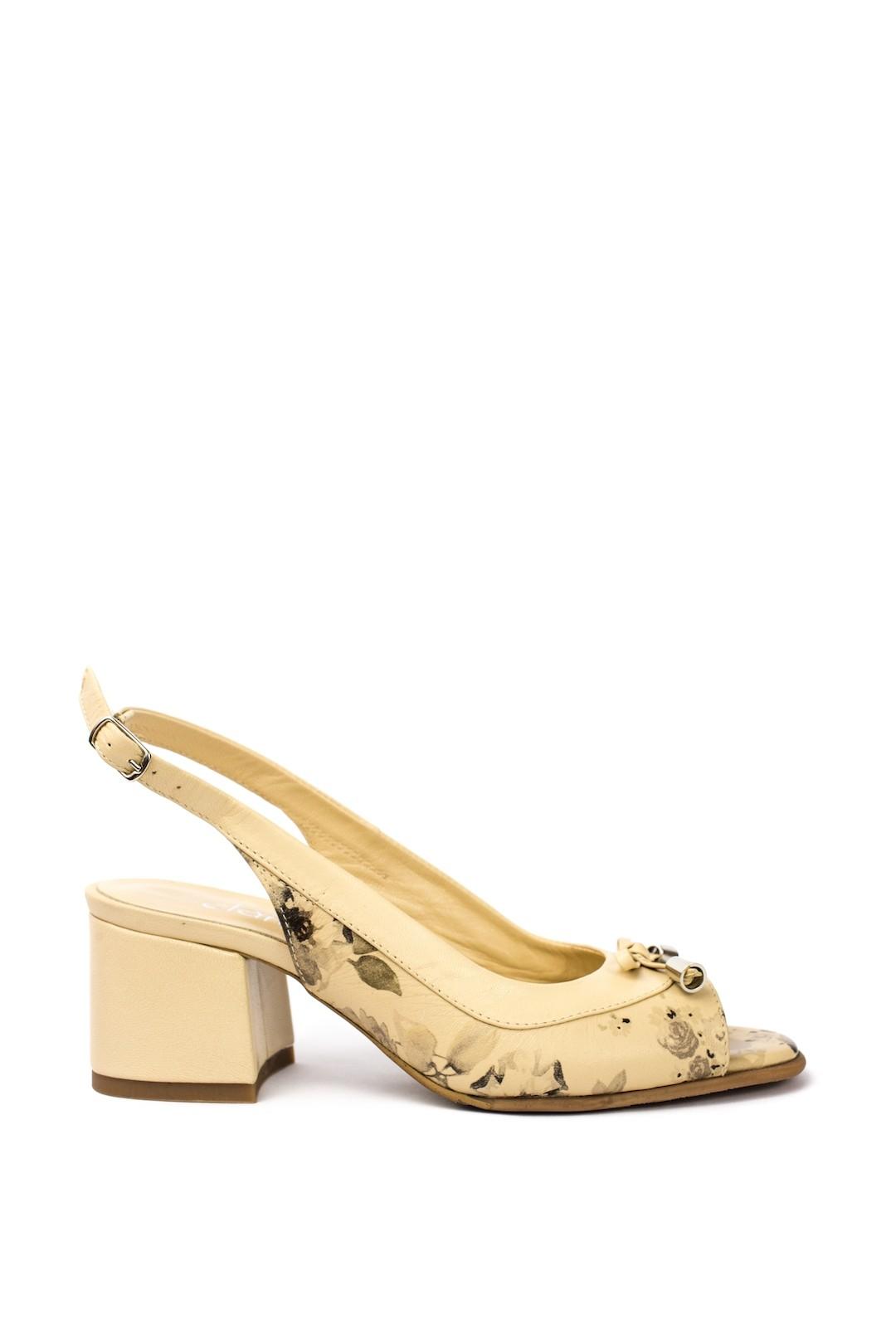 Sandale Dama piele naturala bej Harieta